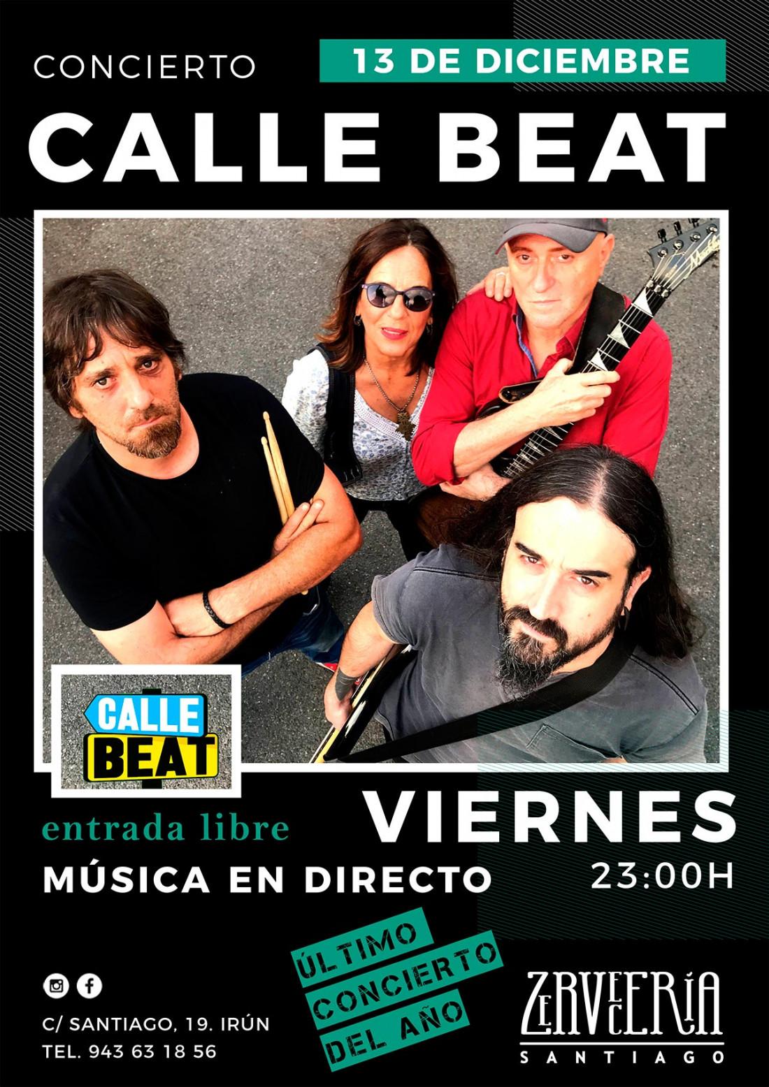 Calle beat en Zervecerria Santiago