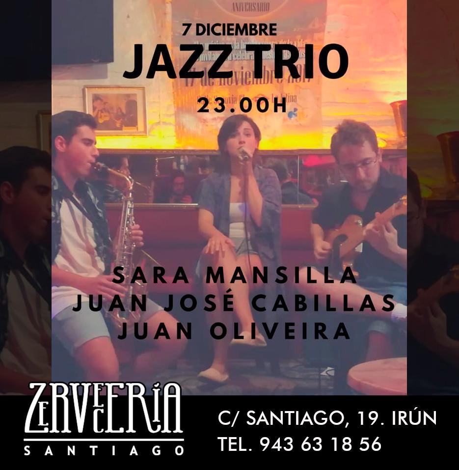 JAZZ TRIO concierto