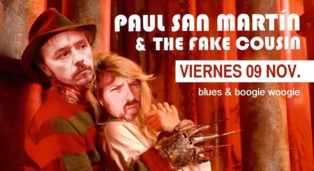 Concierto Paul San Martín y The Fake Cousin